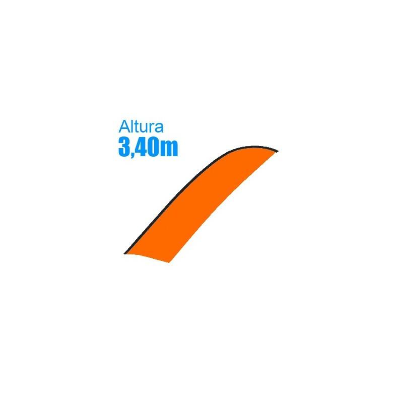 Bandera suelta Modelo Surf Grande