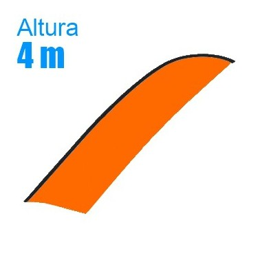 Bandera suelta Modelo Surf Gigante