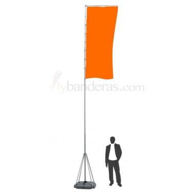 Mástil Telescópico 5-7m -sin bandera-