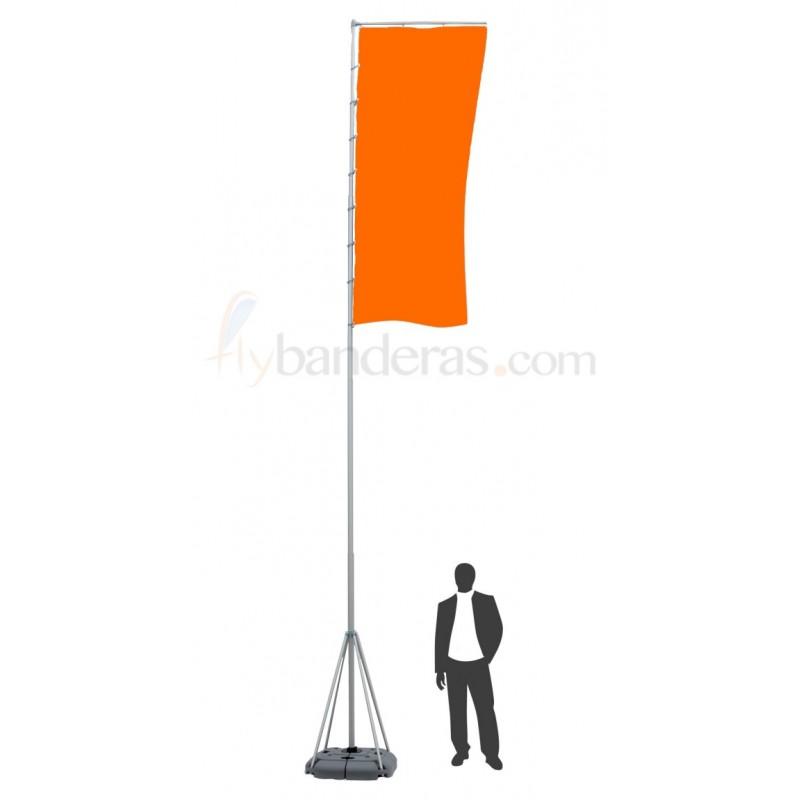 Mástil Telescópico 7m (bandera incluida)