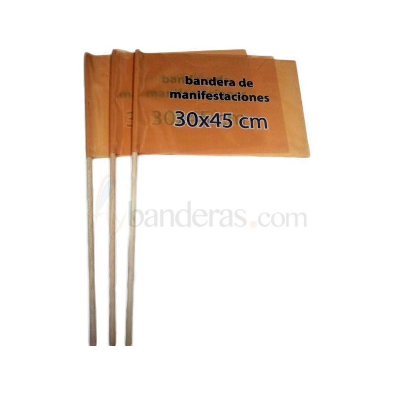 Banderas 30x45cm. Incluye palo