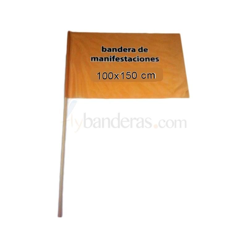 Banderas 100x150cm. Incluye palo