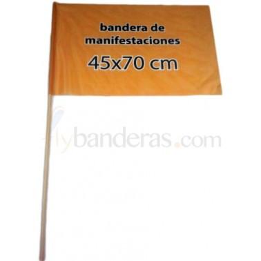 Banderas 45x70cm. Incluye palo