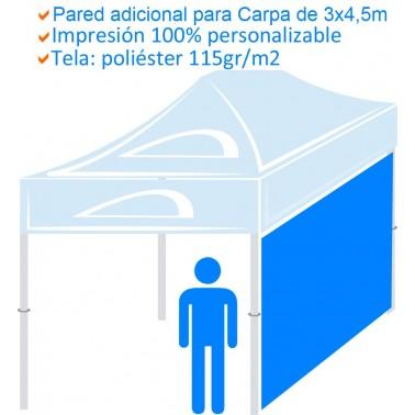 Pared adicional para Carpa de 3x4,5m