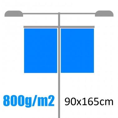 Banderolas para farolas 800gr 90x165cm