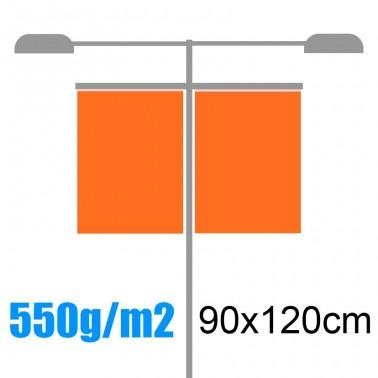 Banderolas para farolas 550gr 90x120cm