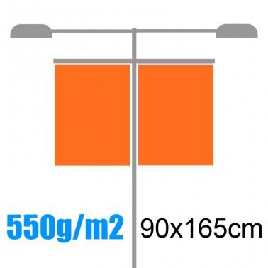Banderolas para farolas 550gr 90x165cm