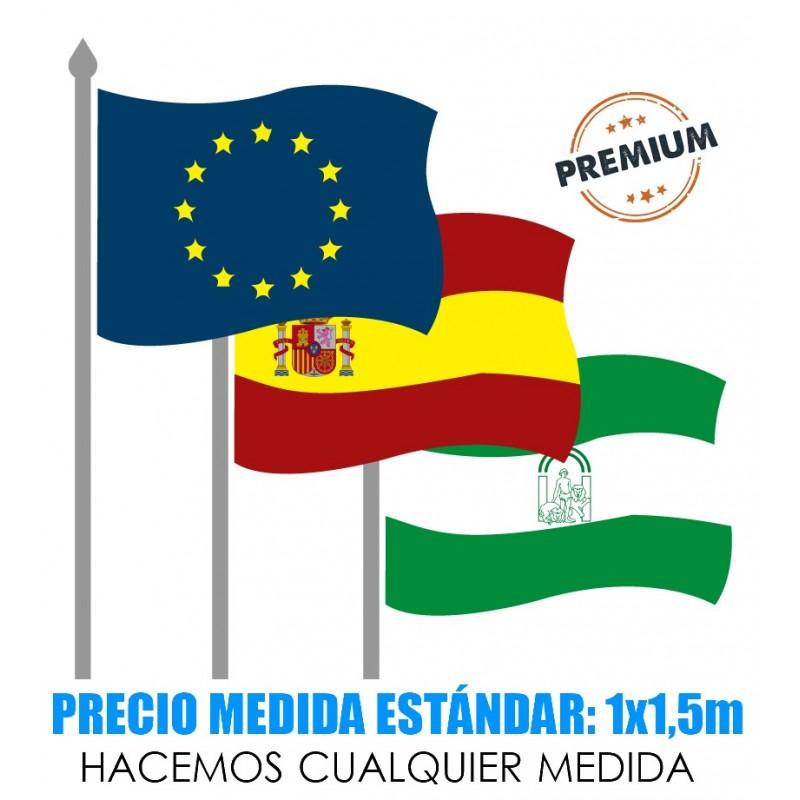 Banderas premium de países o institucionales