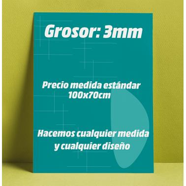 Cartel rígido PVC Forex 3mm
