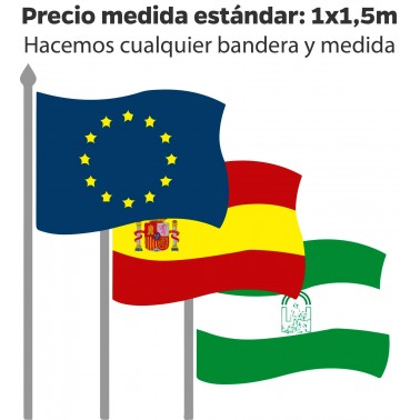 Banderas de España institucionales