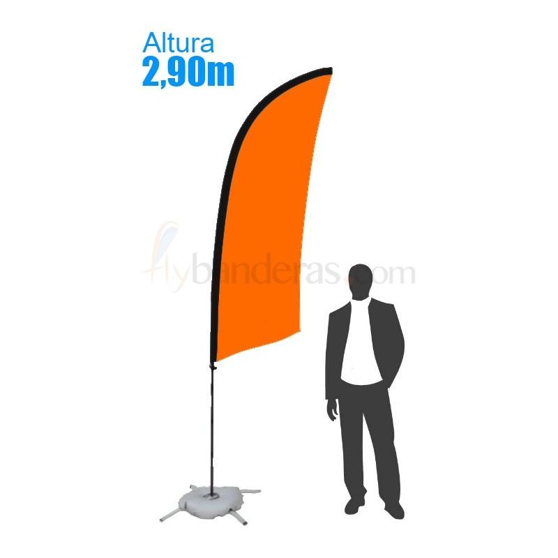 Bandera Modelo Surf Estándar