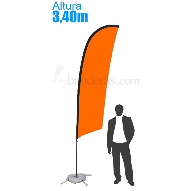 Bandera Modelo Surf Grande