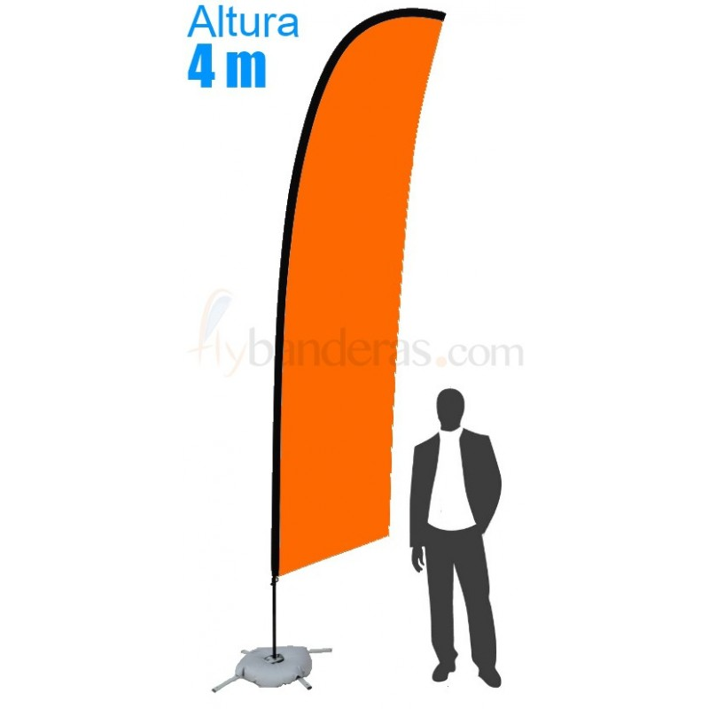 Bandera Modelo Surf Gigante